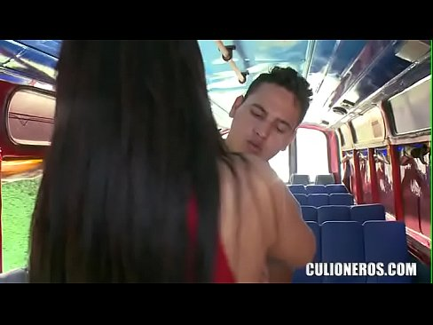 CULIONEROS – Big Booty Latina Fucks In Public!