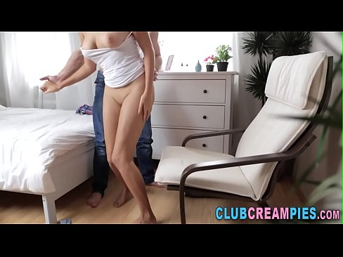 Busty Teen Gets Creampie