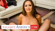 naughty america – ava addams comes welcome home with sexy lingerie